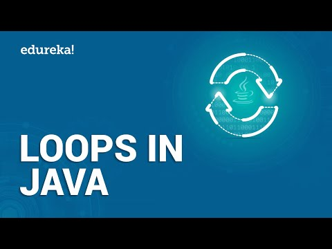 Introduction to Loops in Java | For, While, Do While, Infinite Loops | Java Training | Edureka