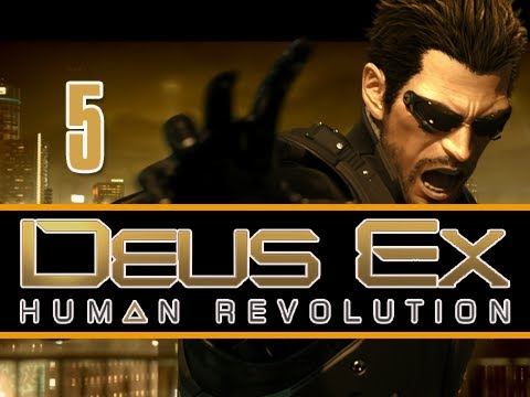 Deus Ex: Human Revolution: Walkthrough Let's Play Eps. 5 Collateral Damage (Gameplay & Commentary)