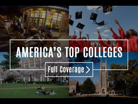 Top 25 universities in USA 2017
