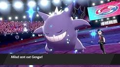 Shiny Gigantamax Gengar FTW - Pokemon Sword and Shield