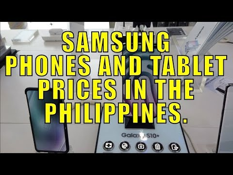 Samsung Phones And Tablet Prices In The Philippines. (Nov 2019)