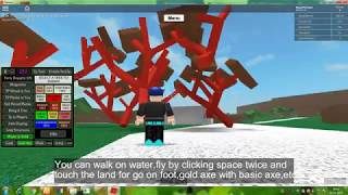 How to hack Lumber Tycoon 2 !!!! in ROBLOX(speed,dupe,noclip,teleport,gold axe)