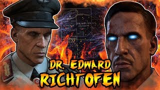 The Story of EDWARD RICHTOFEN (Call of Duty Zombies Full Storyline Explained)