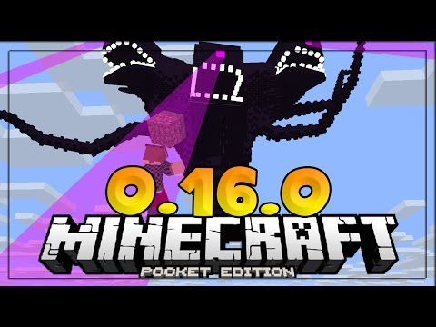 MCPE 0.16.0 - HOW TO SPAWN THE WITHER STORM! - New MCPE Mob Add-on - Minecraft PE (Pocket Edition)