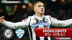 tipico Bundesliga, 14. Runde: SK Sturm Graz - TSV Hartberg 3:1