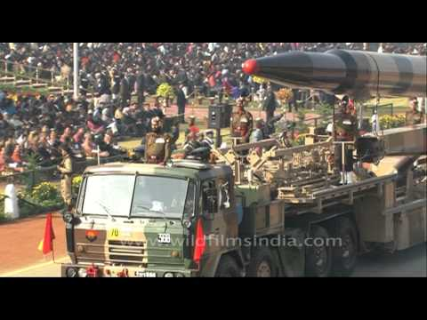 India flaunts Prithvi & Agni-I missiles at Republic Day Parade