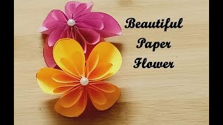 Paper flower ,Paper origami ,How To make paper Flower ,Kids craft, Paper Craft
