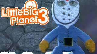 LittleBIGPlanet 3 - Friday the 13th [Scary Game] - Playstation 4