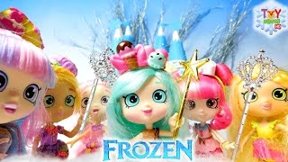shoppies lost in arendelle subscriber bday wish shoppies frozen play