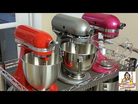 Kitchenaid Tilt Head Stand Mixer Comparison Artisan Vs