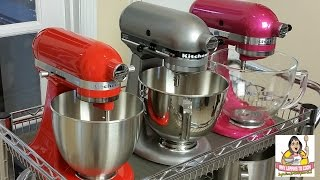 Kitchenaid Tilt Head Stand Mixer Comparison Artisan Vs Classic