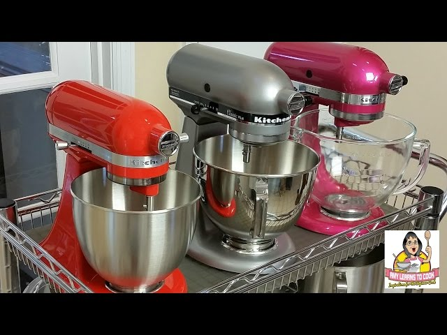 Kitchenaid Tilt Head Stand Mixer Comparison Artisan Vs Classic
