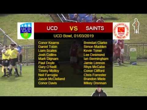 Highlights: UCD 1 - Saints 1 (01/03/2019)