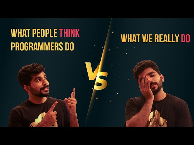 What people think programmers do vs what we really do! 👨💻 #shorts