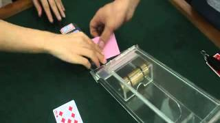 Transparent Dealing Shoe With Built In Camera For Mda Poker Analyzer