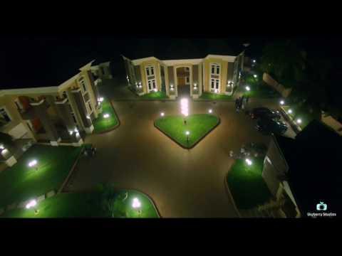 Obiora Compound, Nnewi, Anambra State, Nigeria Drone-shot Night (4K)