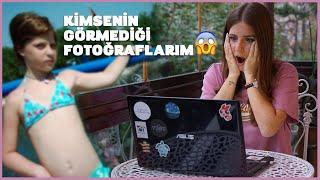 KİMSENİN GÖRMEDİĞİ FOTOĞRAFLARIMA BAKIYORUM(ERGENLİK & SET ANILARI)