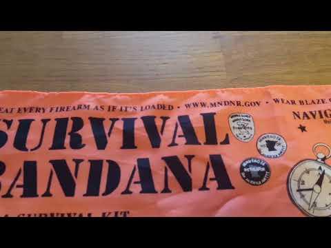 Survival Bandana!