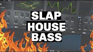 Serum Tutorial: How to make a Slap House Bass 2020