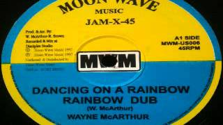 Wayne McArthur - dancing on a rainbow (MOON WAVE - 1997) 12inch