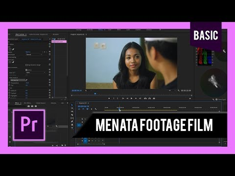 ORGANIZE FOOTAGE UNTUK EDITING FILM ADOBE PREMIERE (TUTORIAL 2019) thumbnail