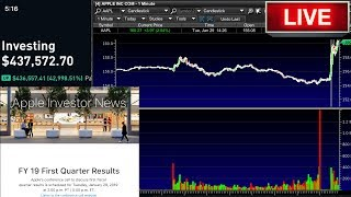 Gambar cover BAD GUIDANCE – Apple FY 19 First Quarter Results LIVE Conference Call Webcast – Apple Stock Goes Up