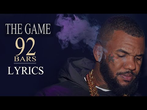 THE GAME - 92 BARS LYRICS ( MEEK MILL DISS )