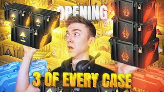 Opening 3 of every CS:GO case EVER! (2021)