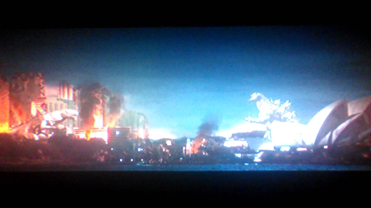 Godzilla Final Wars Clip Godzilla Vs Zilla Youtube