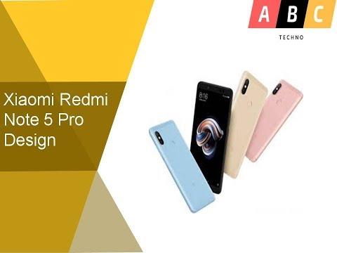 Xiaomi Redmi Note 5 Pro Design