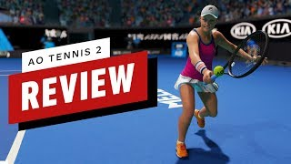 AO Tennis 2 Review (Video Game Video Review)