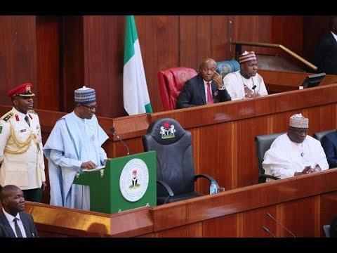 Watch Full Speech of President Muhammadu Buhari's #Budget2018 of 'National Development'