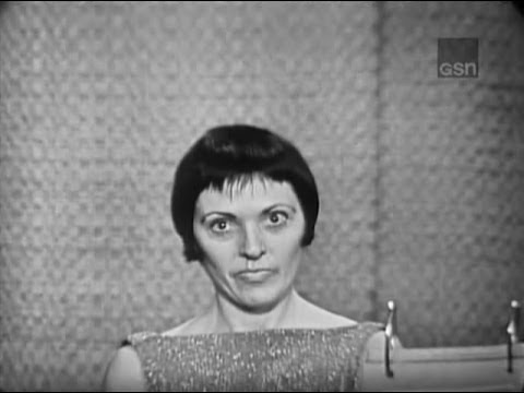 What's My Line?  Keely Smith; Alan King panel Mar 18, 1962