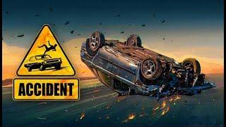Accident FR #2 un grumier perd son chargement