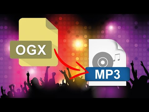 How to Convert OGX Files to MP3 in Batches?