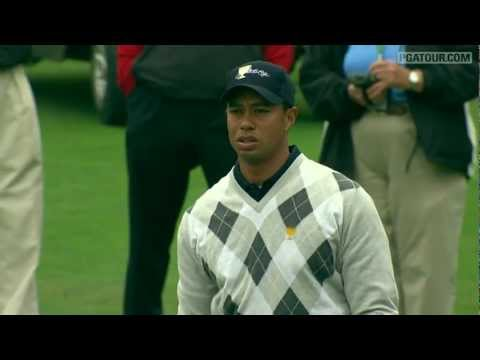 Presidents Cup Moments: Tiger's clutch approach in 2009