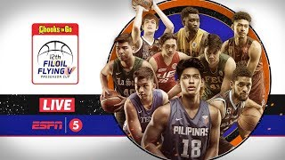 LIVE: FEU vs Adamson | Gilas vs UE | Filoil Flying V Preseason Cup 2018