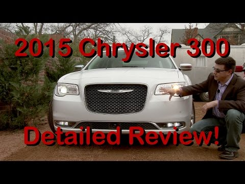 2015 Chrysler 300 DETAILED Review in 4K!