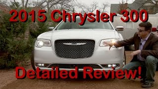 2015 Chrysler 300 Detailed First Drive Review in 4K!