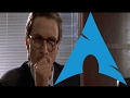 Comparing Arch Linux Rices (American Psycho Business Card Scene)