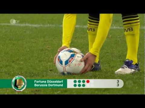 Düsseldorf 4-5 Dortmund DFP POKAL (Elfmeterschiessen) 20.Dez.2011
