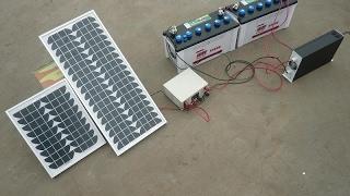 في منظومة الطاقة الشمسية متى تستخدم البطاريات ذات 12 أو 24 أو 48 فولت وايهم الاف