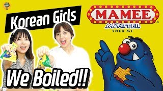 Korean Girls Boiled Mamee Noodle Snack!!!!|Blimey