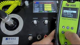 TPI9080 휴대용 진동계의 레코딩 방법 Trend …