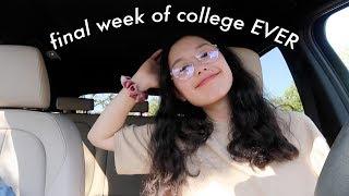 my final week of college EVER | uc berkeley senior
