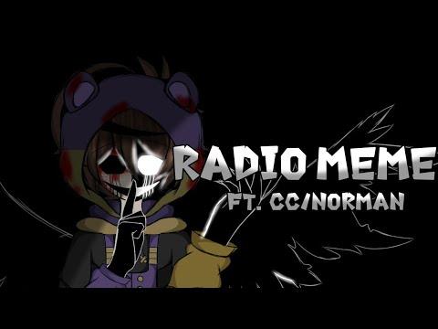    Radio Meme    Ft. CC/Norman    Drawing    ⚠️Flash Warning⚠️    My Fnaf AU   