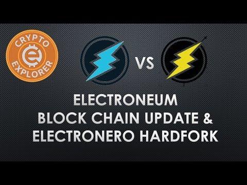 Electroneum Blockchain Update vs Electronero Fork