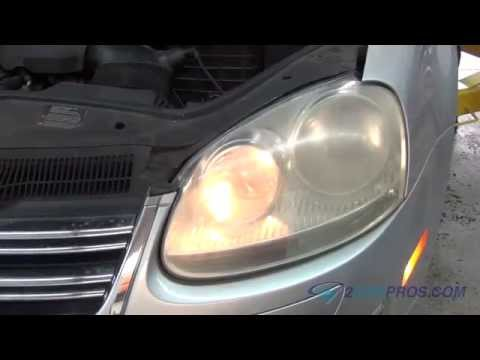 How To Volkswagen Headlight Bulb Replacement Eich Mo