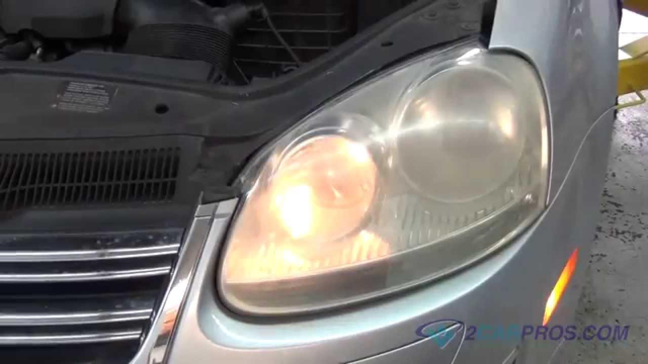 2014 Vw Jetta Fuse Diagram Headlight Bulb Replacement Volkswagen Jetta 2005 2010