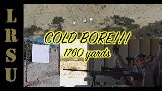 Long Range Shooting 1 Mile vs Milk Jug FIRST SHOT!!!